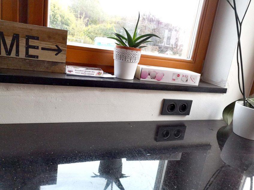 Szklany panel do kuchni
