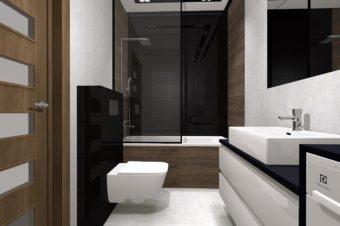 ścianka prysznicowa