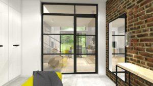loft glass cegiełka