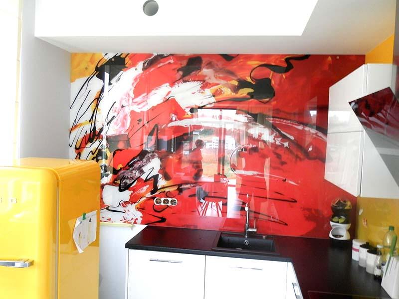Szkło dekoracyjne do kuchni